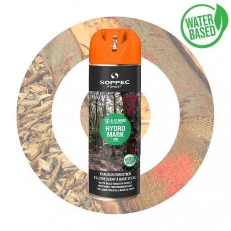 HYDRO MARK FLUO traceur forestier eco orange