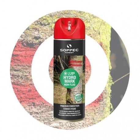 HYDRO MARK traceur forestier eco rouge non fluo