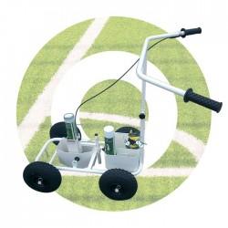 Chariot de traçage de lignes tracing sport terrains engazonnés Soppec