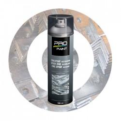 Spray zinc alu brillant