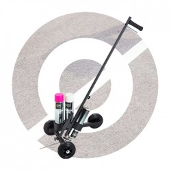 3-Wheel Line Marking Trolley