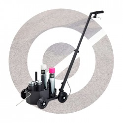 4-Wheel Line Marking Trolley