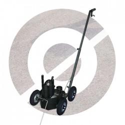 4-wiel markeringswagen luchtbanden