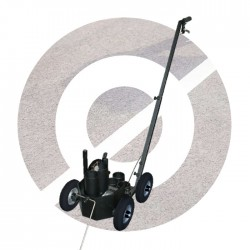 Line Marking Trolley 4 wheels Inflatable Tires