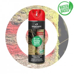 HYDRO MARK traceur forestier eco rouge non fluo