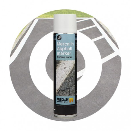 Mercalin Asphalt Marker :  Infrastructure marking spray